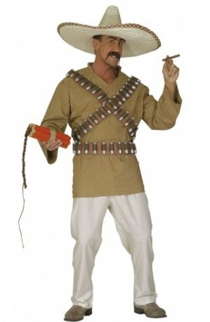 Plus size Mexican bandit costume